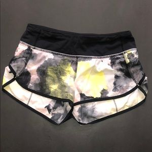 Lululemon multi color running shorts